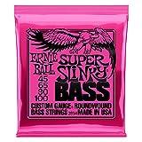 【正規品】 ERNIE BALL 2834 ベース弦 (45-100) SUPER SLINKY BASS スーパー・スリンキー・ベース