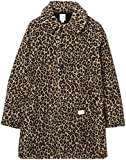 "(ベドウィン)BEDWIN BOA FLEECE SOUTEIN COLLAR COAT ""SLOVAK"" 17AB5458  LEOPARD 2"