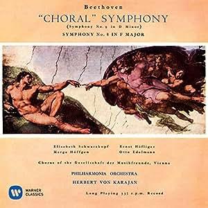 ベートーヴェン:交響曲第8番、第9番「合唱」