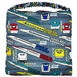 アスナロ(小物) 学童クッション 男の子 キッズ 新幹線 子供座布団 いす用 入園入学 新学期F スーパーエクスプレス