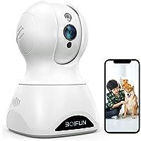 【2021令和3年最新強化版500万画素】BOIFUN ネットワークカメラ ペットカメラ 1944P IP wifiカメ…