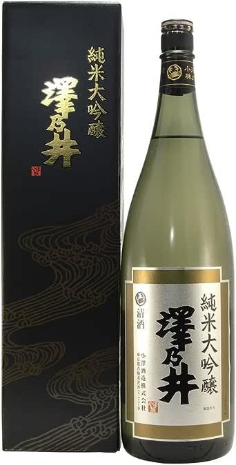 澤乃井 純米大吟醸 [ 日本酒 東京都 1800ml ]