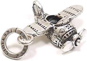 [チャームズアンドコー] CHARMS&Co. チャーム ペンダントトップ シルバー925 おもちゃ プロペラ機 8649 インポート