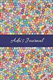 Ada's Journal: Cute Personalized Name College-Ruled Notebook for Girls &Women - Blank Lined Gift Journal/Diary for Writing &Note Taking