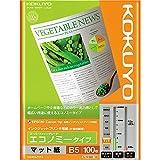 Amazon.co.jpコクヨ インクジェットプリンタ用紙 エコノミー B5 100枚 KJ-M18B5-100