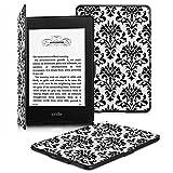 Fintie Kindle Paperwhite ケース 超薄 軽量 保護カバー オートスリープ機能付き (2016 NEW-Kindle Paperwhiteマンガモデル と 2012, 2013, 2015バージョン適応)( 柄 ベルサイユ)