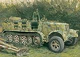 プラッツ CH6794 1/35 独・Sd.Kfz.7 8トン ハーフトラック1943生産型 プラモデル