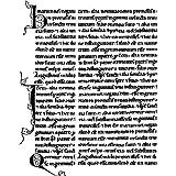 Crafty Individuals社の台木なしラバースタンプ - Medieval Manuscript - CI - 406