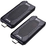 measy Wireless HDMI Extender, 5GHz HDMI Transmitter and Receiver for TV/AV, Support 1080P 60Hz Full HD with IR Remote Control