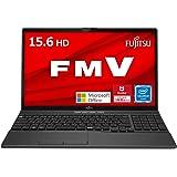 【公式】 富士通 ノートパソコン FMV LIFEBOOK (MS Office 2021/Win 11/15.6型/Celeron/8GB/SSD 256GB/DVD) AHシリーズ FMVWF3A113_AZ