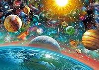 カラービーズストーン画  星球空間