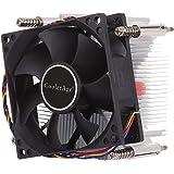 ヒートシンクファン Intel 1155/1151 / i3 / i5用4ピンCPUクーラーミュートサイレントファンヒートシンク コンピュータコンポーネント