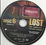 LOST SEASON 2 DISC 6 REPLACEMENT DISC!