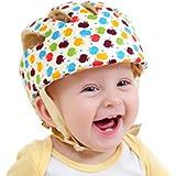 CREDIBLE ベビー・幼児 用 可愛い 洗える スポンジ ヘルメット 綿100% CREDIBLEオリジナルバッグ付 (マルチカラー)