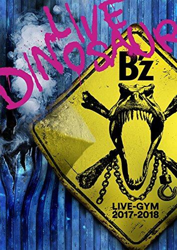 """【早期購入特典あり】B'z LIVE-GYM 2017-2018 """"LIVE DINOSAUR"""" (DVD) (初回出荷生産分のみ) オリジナル・ペットボトルカバー封入 (オリジナルクリアファイル A4サイズ付)"""