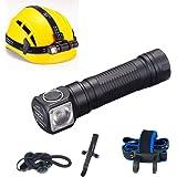 Skilhunt H03 LED Headlamp 18650 EDC Flashlight Max 1200 LED Lumens Waterproof Cree LED Headlight for Outdoor Sports Camping L