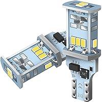 AUXITO T16 LED バックランプ 爆光1300ルーメン キャンセラー内蔵 バックランプ T16 / T15 3…