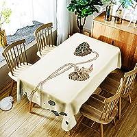 [テンカ]テーブルクロス テーブルカバー 食卓カバー かわいい 北欧 簡約 モダン 芸術 飾り布 140*180cm