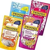 トワイニング紅茶 フルーツインフュージョン フルーツハーブティー4種類お試しセット 各1袋入り