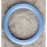 Teething Bling Cotton Candy Blue Bangle Bracelet by Smart Mom Jewelry
