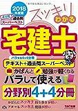 スッキリわかる宅建士 テキスト+過去問スーパーベスト 2018年度 (スッキリわかるシリーズ)