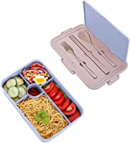 Ehinew Bento Box, Lunch Box for Kids and Adults, Leakproof Lunch Containers