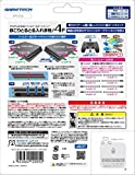 PS4 Pro (CUH-7000シリーズ) 用フィルター&キャップセット『ほこりとるとる入れま栓!4P (ホワイト) 』 画像