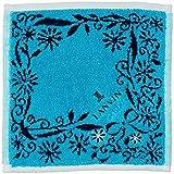 [ランバンオンブルー] レディース ハンカチーフ レディース ハンカチーフ 17406008B ピーコックグリーン 日本 20cm×20cm (FREE サイズ)