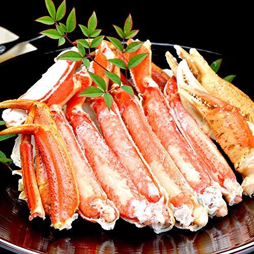 天空海闊 ズワイガニ カット済み 脚肉 ハーフポーション 本 ずわい蟹 最高級 大型バルダイ種 2パック