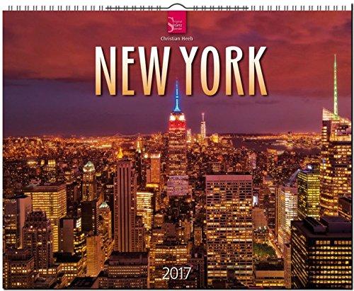 New York 2017: Grossformat-Kalender