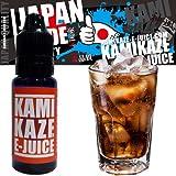 新品 KAMIKAZE E-JUICE cola コーラ 電子タバコ 日本製国産 リキッド 15ml 1本