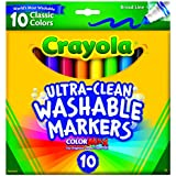 Crayola 58 7713 12ct Fineline Markers Classic