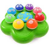 BEST LEARNING Mushroom Garden - Interactive Educational Light-Up Toddler Toys for 1 to 3 Years Old Infants & Toddlers - Color