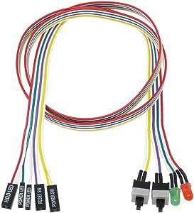 アイネックス スイッチ/LEDリボンケーブル 75cm KM-07