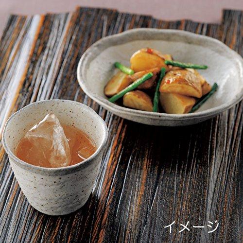 美濃焼 白唐津 丸煮物鉢 K72061