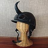 アジアン・バリ雑貨・バリウッド・baliwood:角付きバイキングヘルメット風帽子?(フロントホーン)