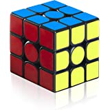 EnacFire スピードキューブ 回転スムーズ 立体パズル ポップ防止 3x3x3 競技専用 世界基準配色