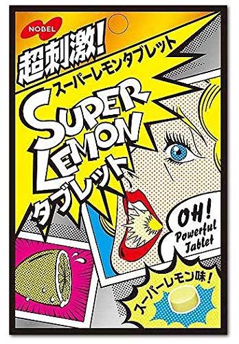 ノーベル スーパーレモン タブレット 33g×6個