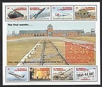 セントビンセント切手『第二次世界大戦』(アウシュビッツ/V2号) 未使用