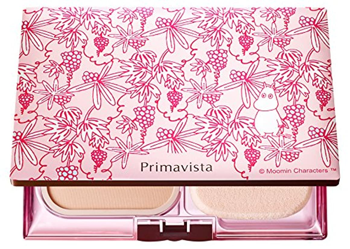 ソフィーナ プリマヴィスタ きれいな素肌質感パウダーファンデーション(オークル05)+限定ムーミンデザインコンパクト 企画品