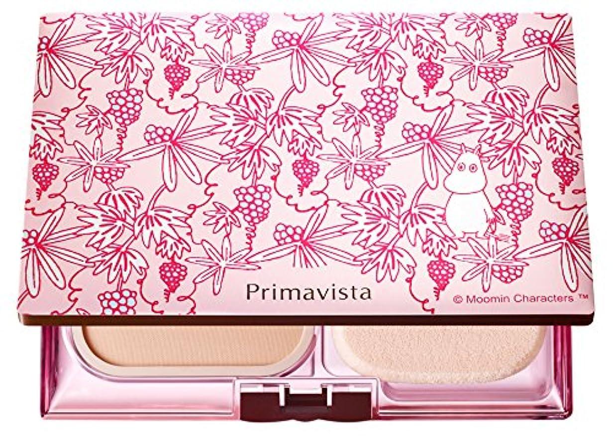 実際利益製造業ソフィーナ プリマヴィスタ きれいな素肌質感パウダーファンデーション(オークル05)+限定ムーミンデザインコンパクト 企画品