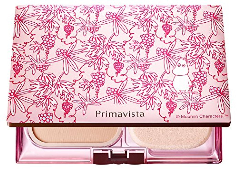 必須ニックネームブリッジソフィーナ プリマヴィスタ きれいな素肌質感パウダーファンデーション(オークル05)+限定ムーミンデザインコンパクト 企画品