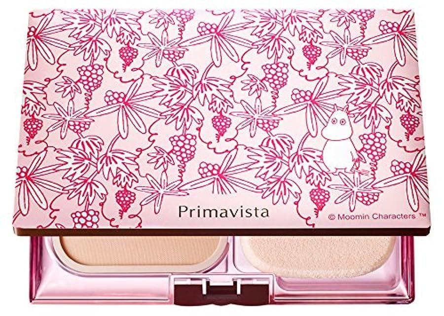 反抗対応する贈り物ソフィーナ プリマヴィスタ きれいな素肌質感パウダーファンデーション(オークル05)+限定ムーミンデザインコンパクト 企画品