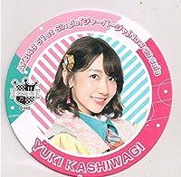 AKB48 カフェ コースター 柏木由紀 AKB48Cafe&Shop ジャーバージャー コラボ 非売品
