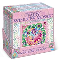 Fairy Tale Window Mosaic Art Kit (Styles May Vary) by 4M