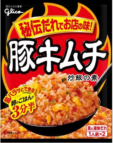 江崎グリコ 豚キムチ 炒飯の素 43.6g×10個
