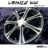ウェッズ アルミホイール 4本セット LEONIS KH 15 x 6.0J 43 4H 100 BK/MC