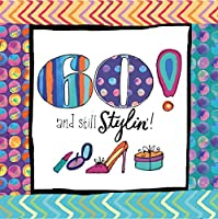 Cypress Home 60th Birthday Paper Cocktail Napkins, 20 count by Cypress Home