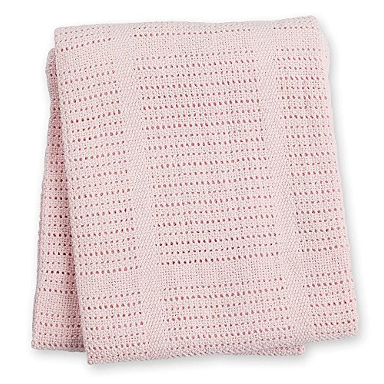 ベビーセルラーベビー毛布、ピンクlulujo