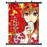 ちはやふるアニメファブリック壁スクロールポスター( 16x 21)インチ。[ WP ] chihaya-7